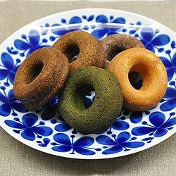 画像1: 焼ドーナッツ 5個入り